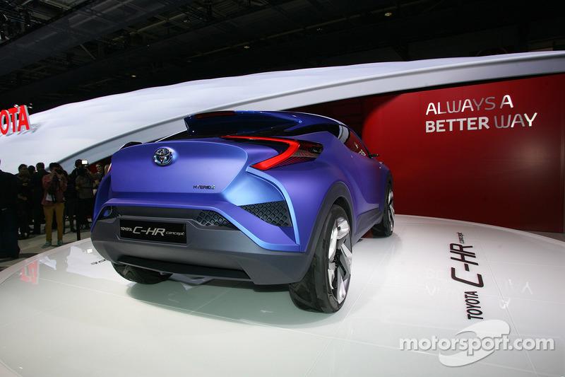 Toyota C HR concept car