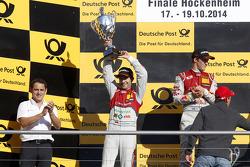Segundo Mike Rockenfeller, Audi Sport Team Phoenix Audi RS 5 DTM