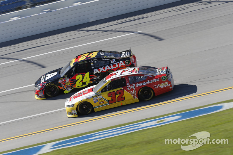 Jeff Gordon y Terry Labonte
