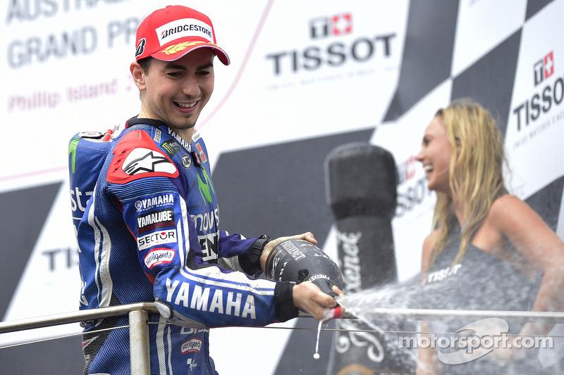 El segundo puesto de Jorge Lorenzo, de Yamaha Factory Racing