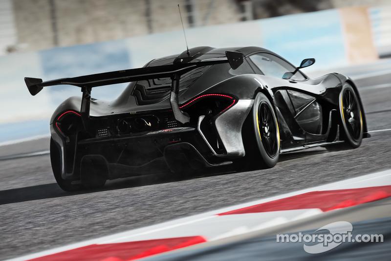 El McLaren P1 GTR