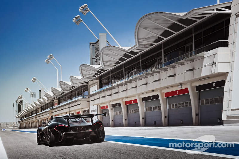 La McLaren P1 GTR