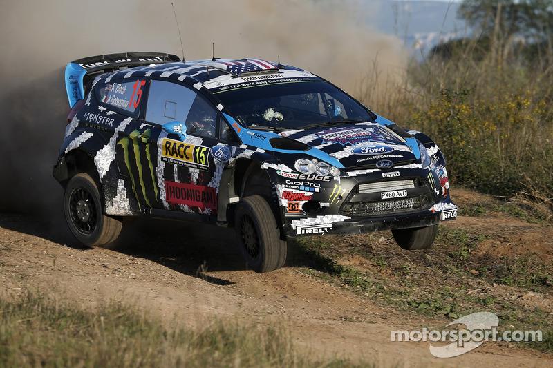 Ken Block y Alex Gelsomino, Ford Fiesta R5