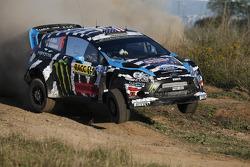 Ken Block ve Alex Gelsomino, Ford Fiesta R5