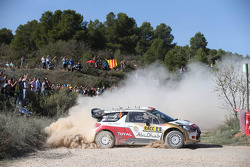 Mads Ostberg ve Jonas Andersson, Citroën DS3 WRC, Citroën Total Abu Dhabi Dünya Ralli Takımı