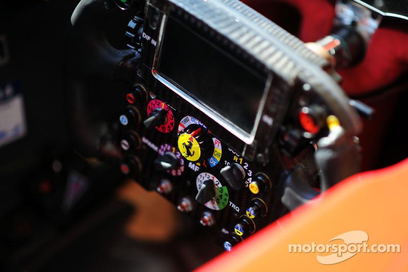 Ferrari F14-T steering wheel