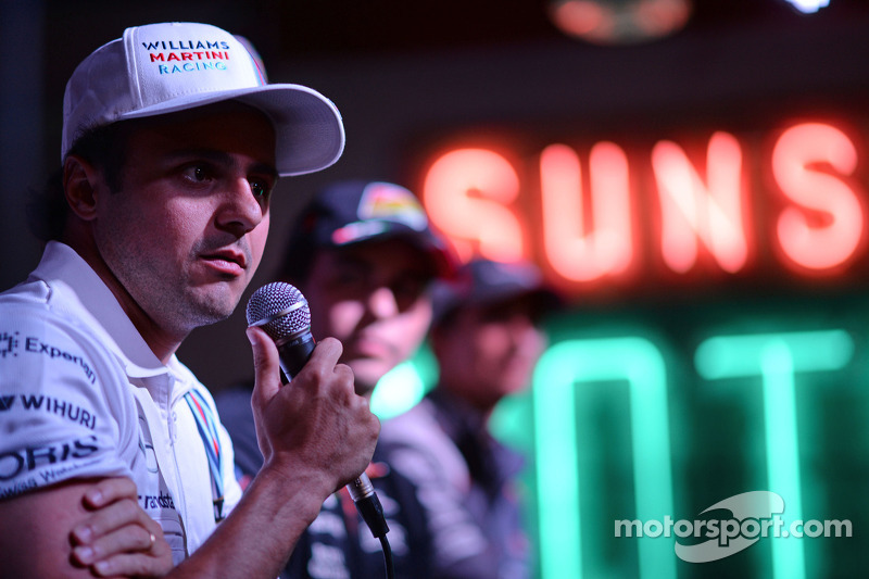 Felipe Massa, Williams at the Fans' Forum