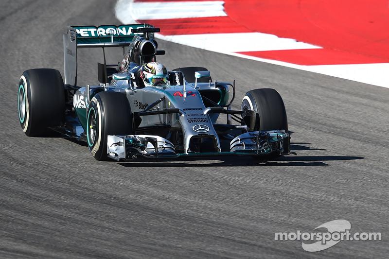 2014 - Austin: Lewis Hamilton, Mercedes F1 W05 Hybrid