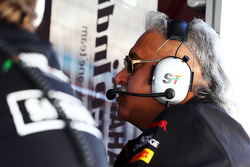 Dr. Vijay Mallya, Sahara Force India F1