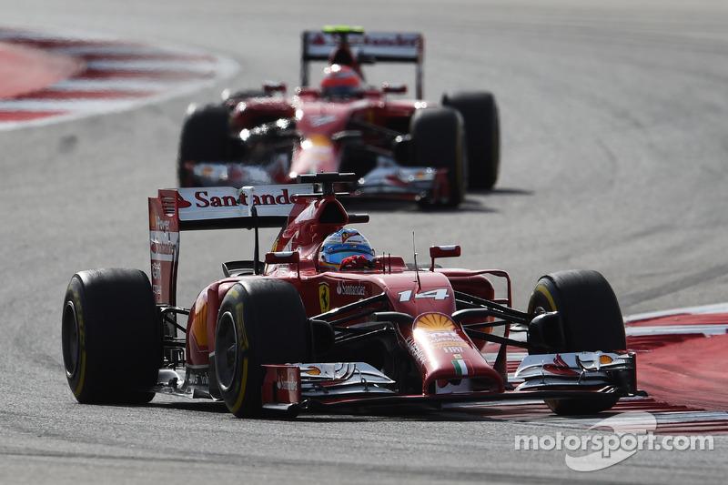 2014 : Fernando Alonso, Ferrari F14 T