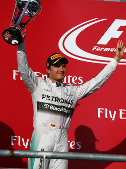 segundo colocado Nico Rosberg, Mercedes AMG F1 W05