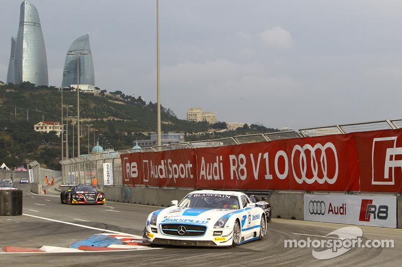 #13 Zakspeed 梅赛德斯 SLS AMG GT3: 阿隆·戴, 安德利亚斯·西蒙森