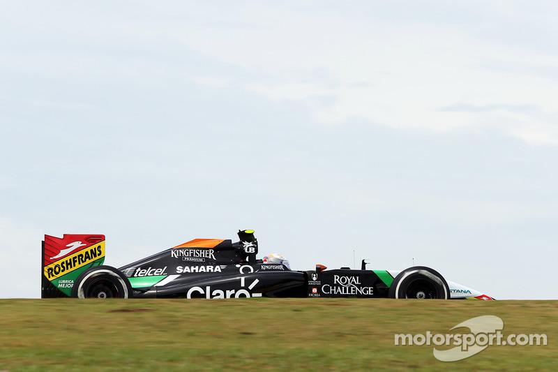 Daniel Juncadella, piloto reserva de Sahara Force India F1 VJM07