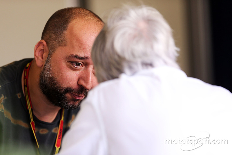 Gerard Lopez, Lotus F1 Takım Patronu ve Bernie Ecclestone
