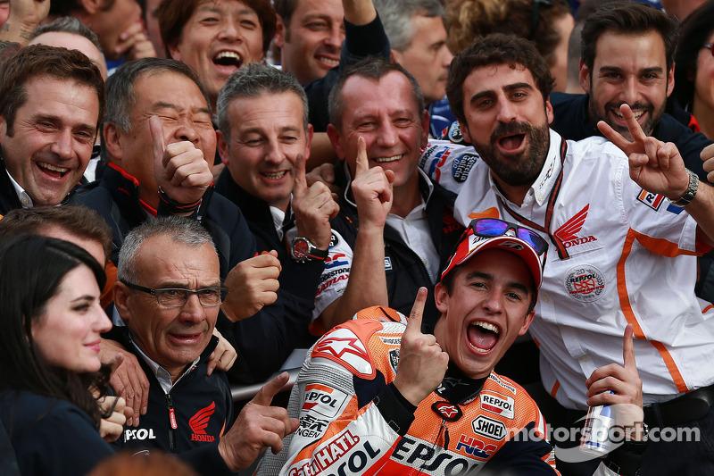 El ganador Marc Marquez, Respol Honda Team