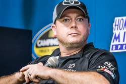 Press conference for the Nationwide Series and Camping World Truck Series: Carl Joiner, crew chief for Matt Crafton