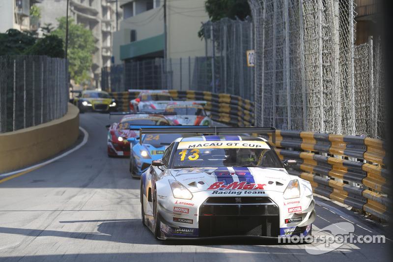 #13 B-Max Racing Team 日产 GT-R Nismo GT3: 千代胜正