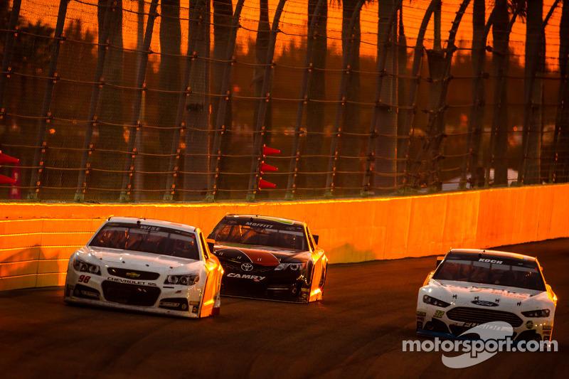迈克·科布福特车队约什·怀斯和FAS Lane福特车队布莱克·科赫