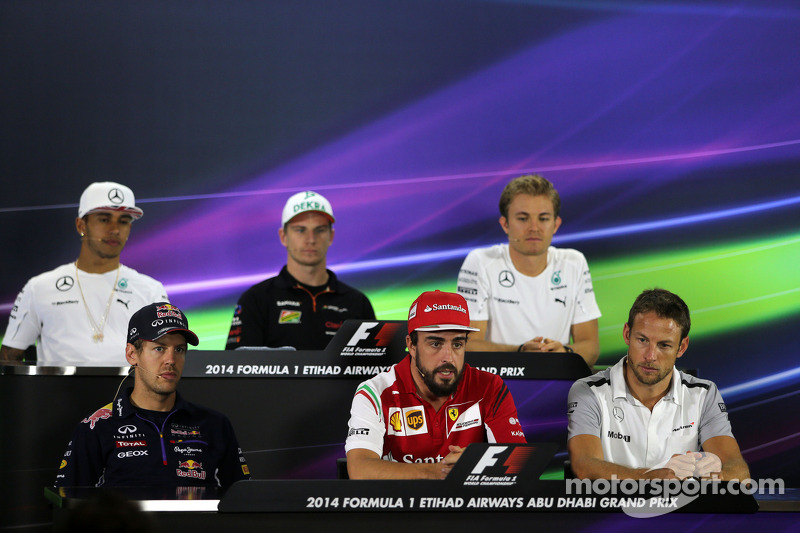 Sebastian Vettel, Red Bull Racing, Fernando Alonso, Scuderia Ferrari e Jenson Button, McLaren F1 Team