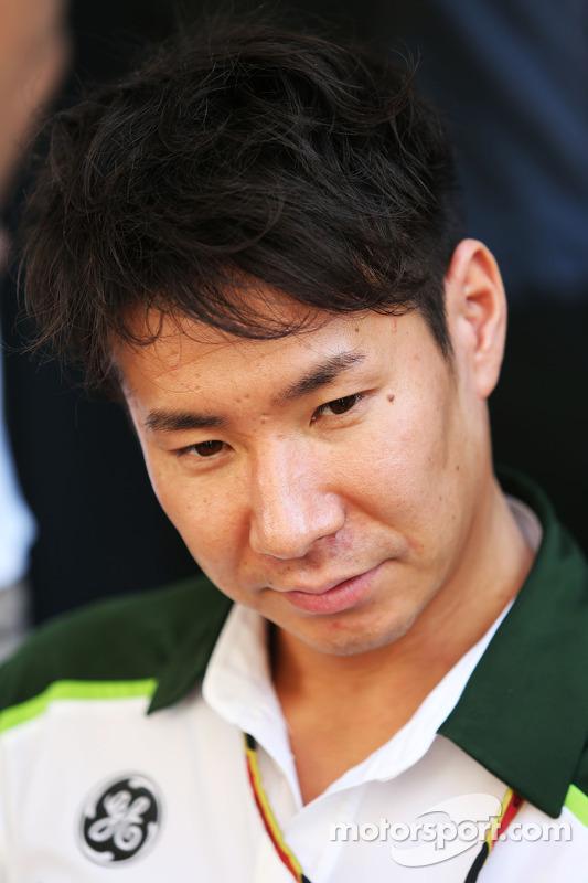 Kamui Kobayashi, Caterham