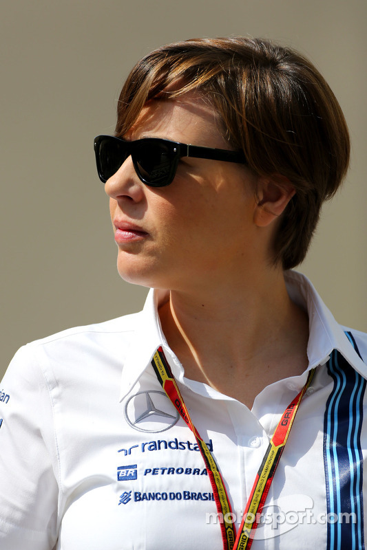 Claire Williams, Williams, Stellvertretende Teamchefin