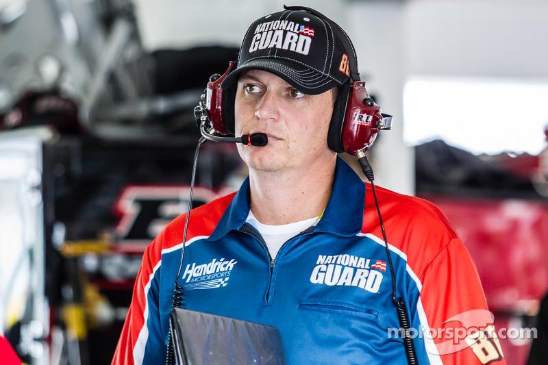 Steve Letarte, jefe de equipo para Dale Earnhardt Jr., Hendrick Motorsports Chevrolet
