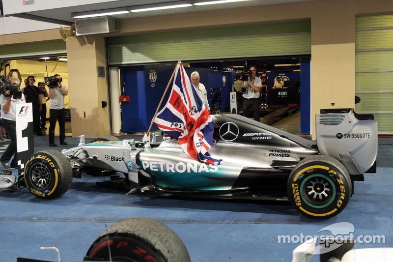 33- Gran Premio de Abu Dhabi 2014, Mercedes