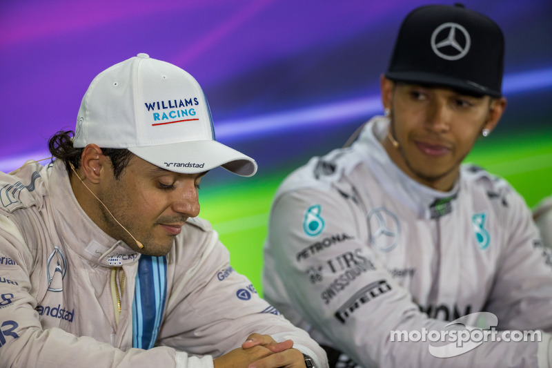 Felipe Massa, Williams FIA Basın Konferansı'nda