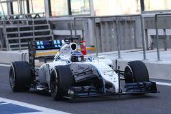 Valtteri Bottas, Williams FW36 sensori di velocità sull'ala anteriore