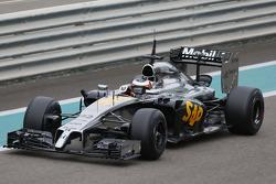 Stoffel Vandoorne, McLaren MP4-29H Piloto de testes e reserva - motor Honda sendo usado