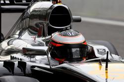 Stoffel Vandoorne, terceiro piloto, McLaren F1 Team