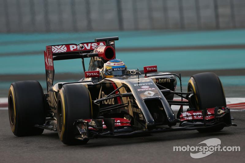 Charles Pic, Lotus F1 E22, tercer piloto
