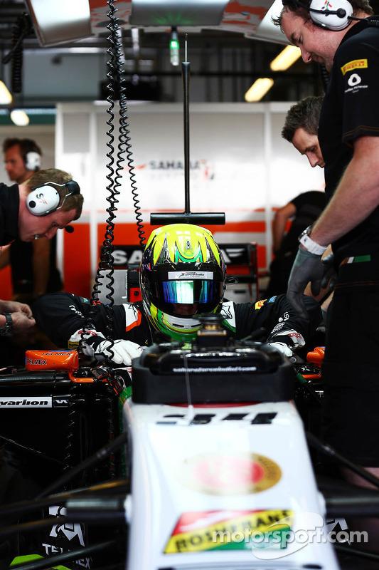 Spike Goddard, Sahara Force India F1 VJM07 piloto de testes