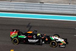 Spike Goddard, Sahara Force India F1 VJM07 Test Pilotu kanat testinde