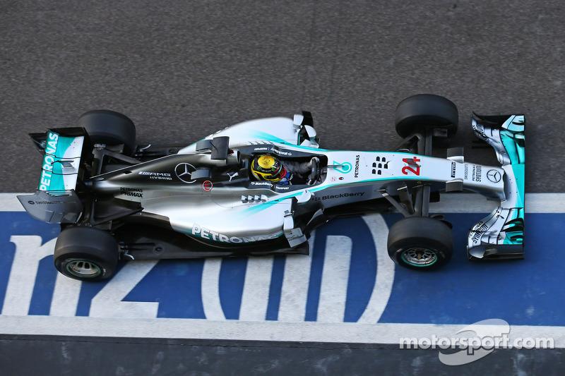 Паскаль Верляйн, Mercedes AMG F1 W05