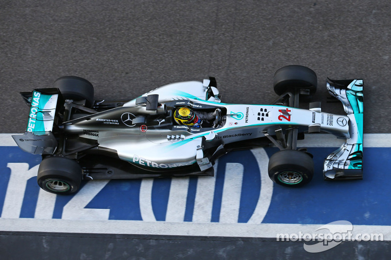 Pascal Wehrlein, piloto reserva de Mercedes AMG F1 W05