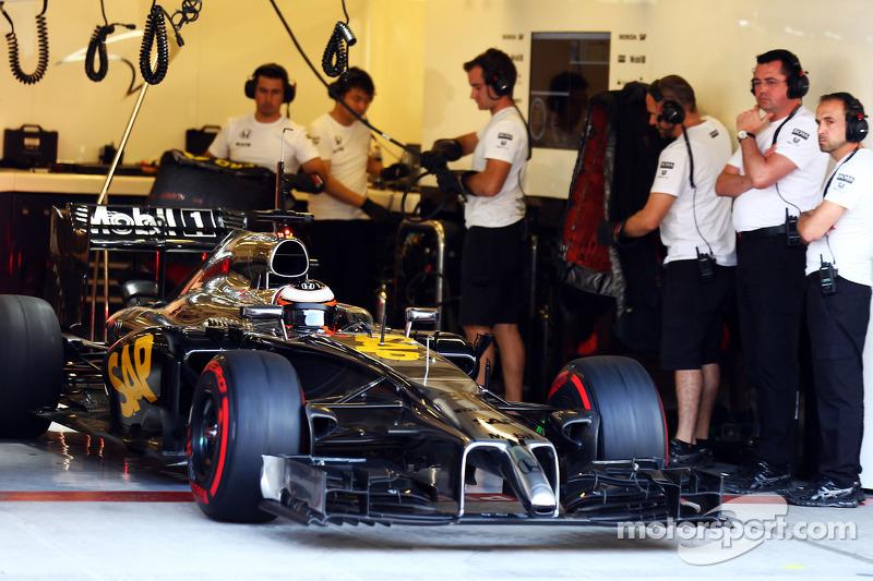 Stoffel Vandoorne, McLaren MP4-29H tester e pilota di riserva