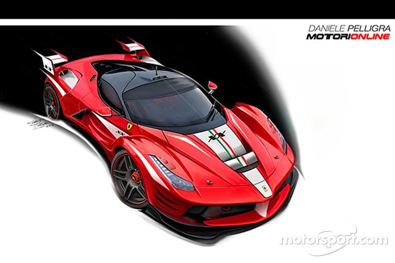 Ferrari LaFerrari XX tasarım konsepti