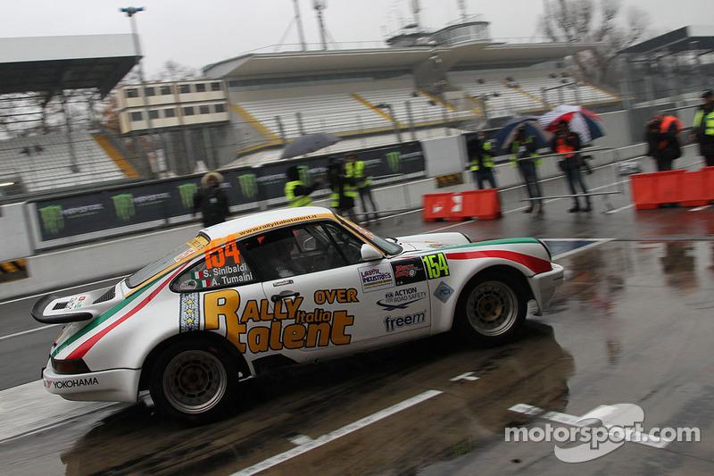 Stefano Sinibaldi e Andrea Tumaini, Porsche 911 Carrera RS