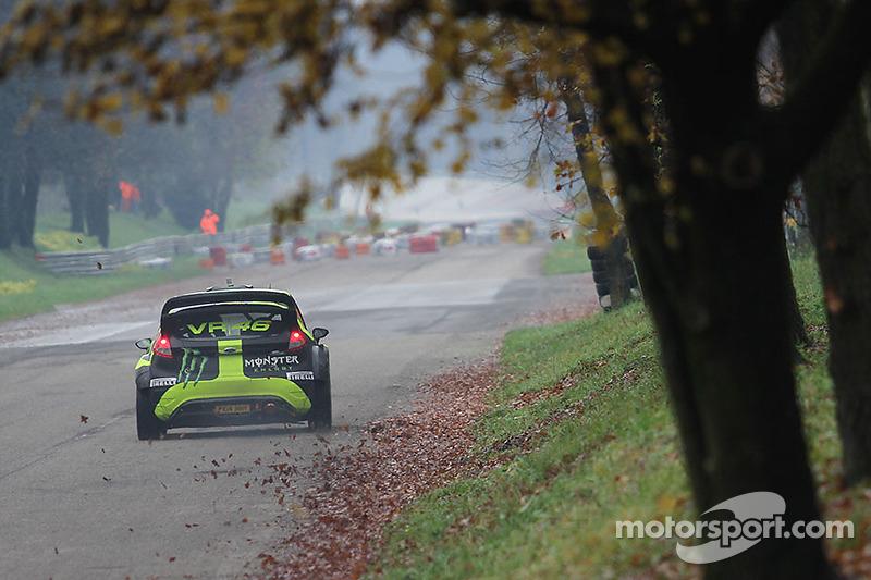 Valentino Rossi e Carlo Cassina, Ford Fiesta WRC