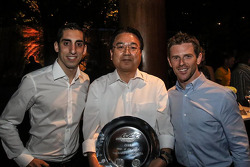 2014 şampiyonları Anthony Davidson, Sebastien Buemi, Toyota Racing