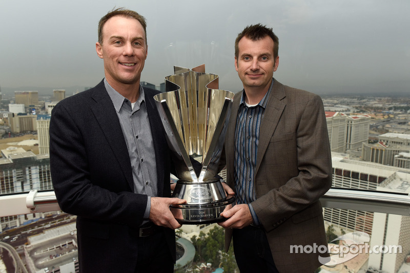 2014 champion Kevin Harvick, Stewart-Haas Racing and crew chief Rodney Childers