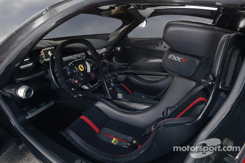 Ferrari unveils the FXX K