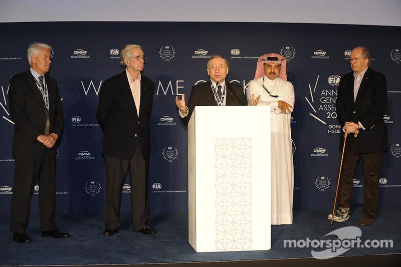 FIA Başkanı Jean Todt, FIA genel kurulu St. Regis oteli, Katar
