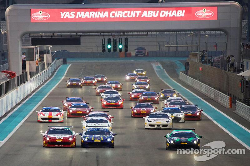 Ferrari Challenge APAC/NA 1. yarış startı