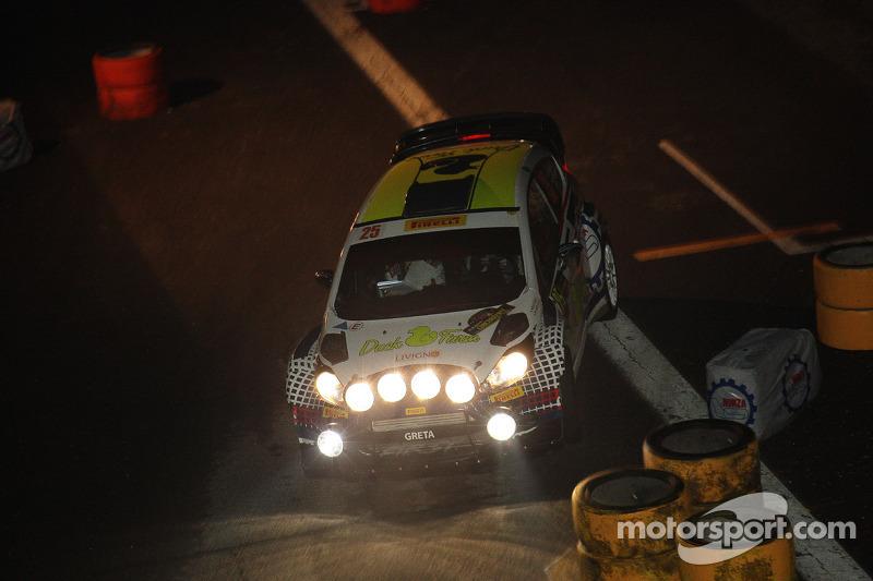 Gigi Galli e Tamara Molinaro, Ford Fiesta WRC