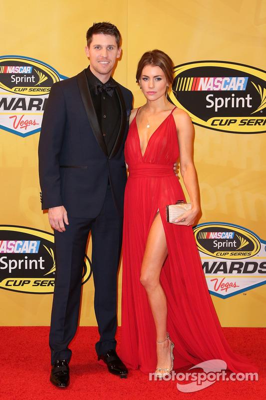 Denny Hamlin and his girlfriend Jordan Fish