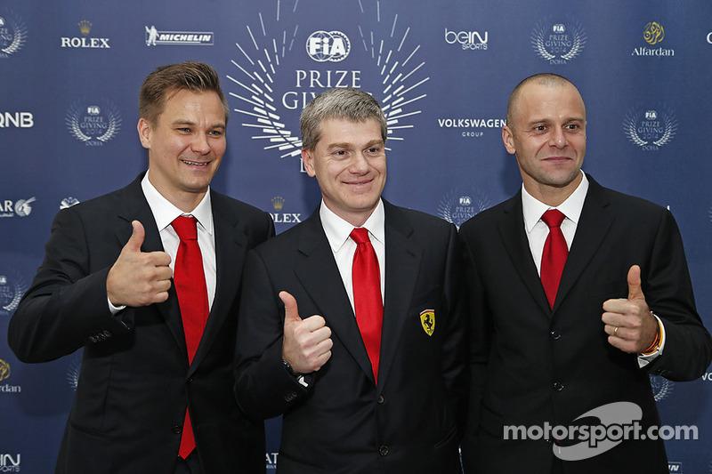 Toni Vilander e Gianmaria Bruni, Ferrari