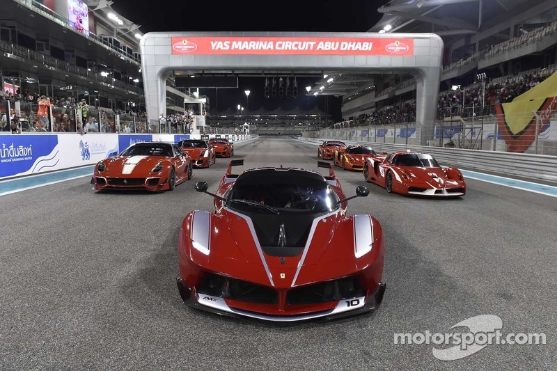 Ferrari FXX K and other FXX cars