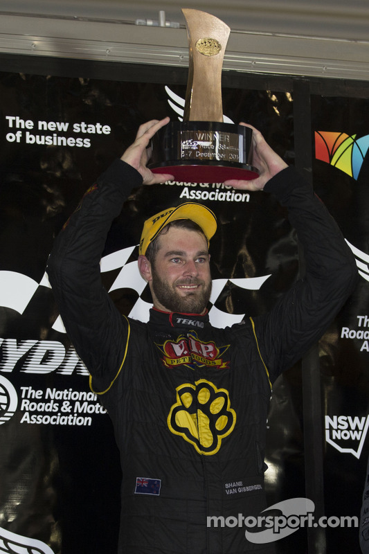 Vencedor da corrida Shane van Gisbergen, Tekno Team VIP Holden